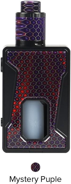 Cigarrillo Electrónico Vaping Kit Aleader Bhive 100W Squonk Kit Atomizador 7ml Tank 100W Box Mod batteria 18650 OLED 0.91 - Sin Nicotina y Sin E-líquido (Púrpura): Amazon.es: Salud y cuidado personal