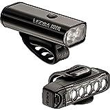LEZYNE Macro Drive 1100XL and Strip Pro Light Combo Black/Black, One Size