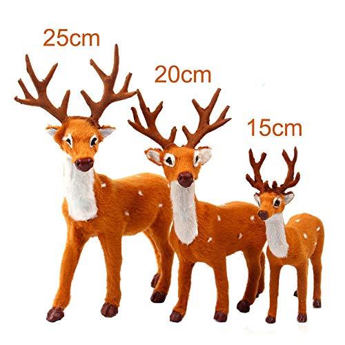 (Hot Sale!DEESEE(TM)Christmas Deer Reindeer Santa Craft Elk Xmas Home Tree Decor Ornament Supply (multicolor))