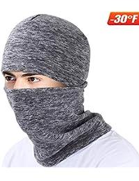 d04da725921 Ski Face Mask Balaclava Fleece Hood for Men Women