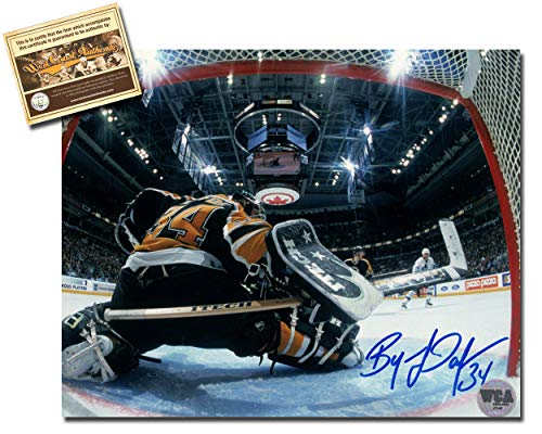 - Byron Dafoe Autographed Signed 8x10 Hockey Photo Memorabilia Certified with WCA Dual Authentication Holograms and COA