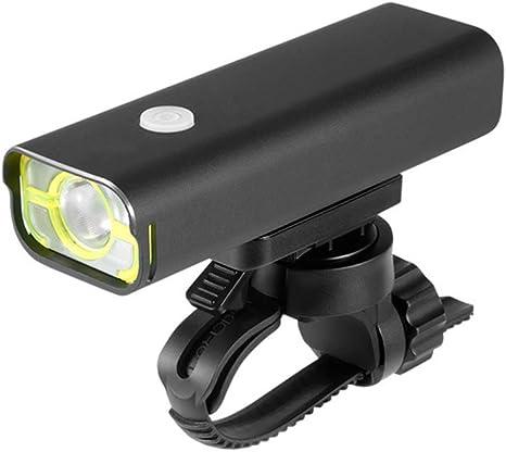 Luces Bicicleta Frontal Lámpara Bici Recargable USB IPX6 ...