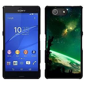 Abundancia de la tierra - Metal de aluminio y de plástico duro Caja del teléfono - Negro - Sony Xperia Z4v / Sony Xperia Z4 / E6508