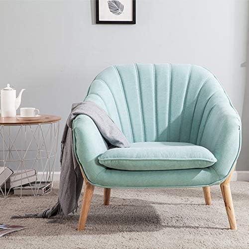 Wamiehomy Modern Suede Fabric Armchair