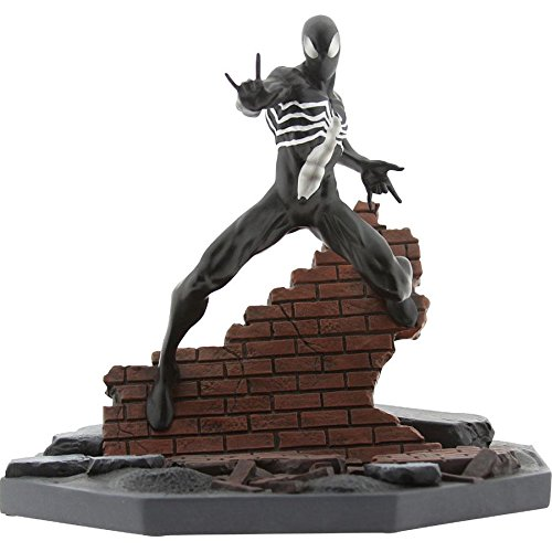 (BAIT x Marvel Black Spider-Man Statue By MINDstyle,)