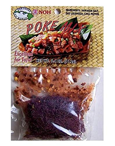 NOH Hawaiian Poke Mix, 0.4-Ounce Packet, (Pack of 12)