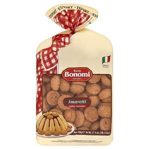 Forno Bonomi Amaretti italienische Spezialität 500g (Packung mit 9 x 500 g)