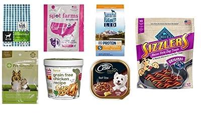 Dog Food & Treat Sample Box