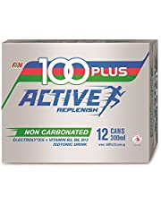 100 Plus Active Isotonic Drink (Non-carbonated), 300ml (Pack of 12)
