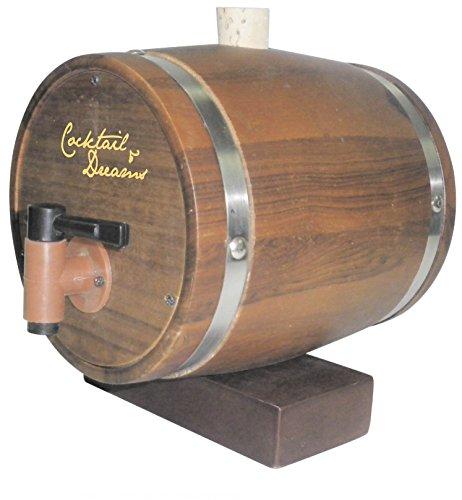 Cocktail & Dreams Classic Teak Wooden Decanter, Drink - Bar Tequila Copenhagen