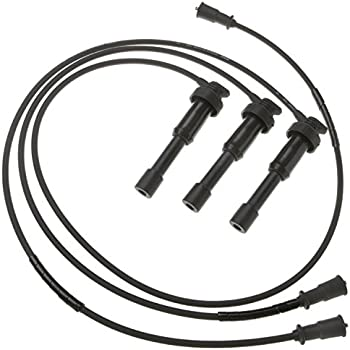 Amazon Com Uxcell Car Spark Plug Wires Set Of 3 Ignition Wire For