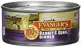 Evanger's Rabbit and Qual Dinner 24 5.5oz