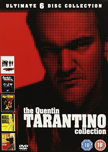 The Quentin Tarantino Collection [REGION 2 FORMATTED PAL VERSION DVD]