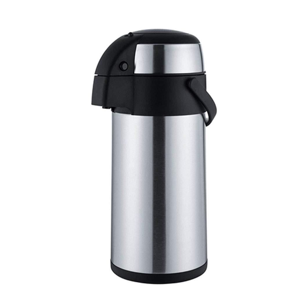 FYCZ Isolierungs-Topf-Flasche, Pumpen-Tätigkeit 2.5-5 L Edelstahl vervollkommnen für heiße kalte Flüssigkeiten im Freienhaus