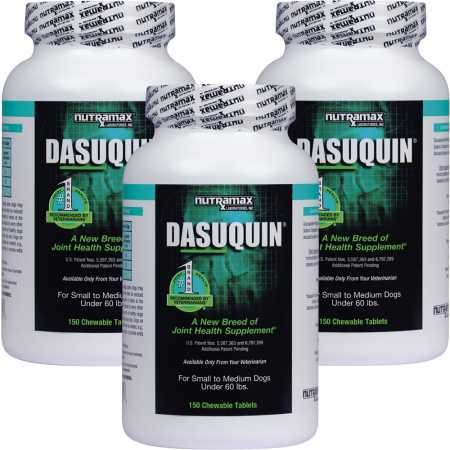 Dasuquin 3PACK for Small to Medium Dogs (450 Chewable Tabs)