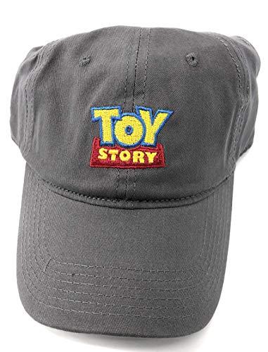 Disney Adult Toy Story Logo Grey Baseball Cap Hat]()