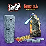USAOPOLY Jenga: Godzilla Extreme Edition | Based on Classic Monster Movie Franchise Godzilla | Collectible Jenga Game | Unique Gameplay Featuring Movable Godzilla Piece