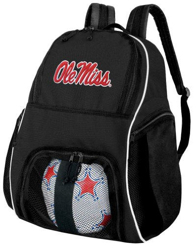 Ole Miss Ball Backpack University of Mississippi Soccer Bag OFFICIAL NCAA