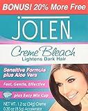 Jolen Creme Bleach Plus Aloe Vera, 1.2