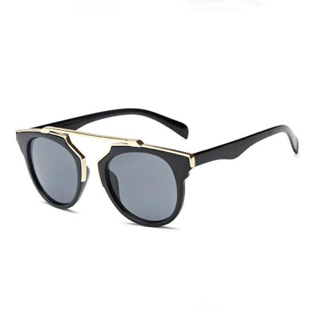 Z&YQ Runde Sonnenbrille Metallbrü cke, die neutrale Farbe Glä ser Kreuzung Z&YQ sports