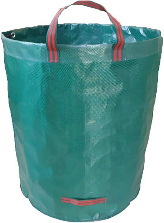 Guoyy - Bolsas de basura reutilizables para jardín (72 galones: Amazon.es: Jardín