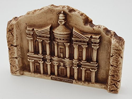 Petra Monastery Al-Deir wonderful unique Semi-carved 3D Crafted By EASTCRAFTERS decorative Piece Of Art Collectible Handmade Crafted ()