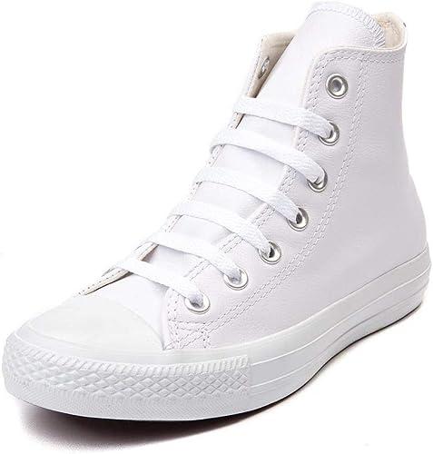Converse CTAS Hi White, Baskets Hautes M
