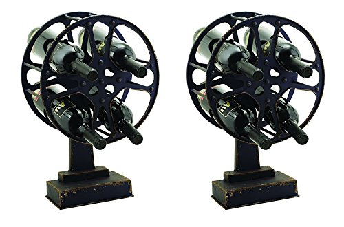 Country Cottage: Movie Reel Wine Holder, Set of 2 by Twine