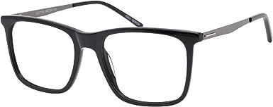 Amazon.com: OCCI CHIARI Optical Men's Eyewear Classic Frame (OC7018-Black):  Clothing