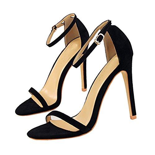 DS126 36 Noir pour MiyooparkUK Sandales 5 Miyoopark Noir Femme EU 9 w51q8wPY