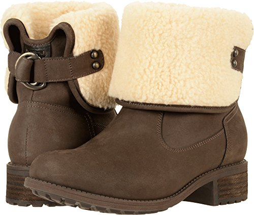 UGG Women's Aldon Winter Boot, Stout, 8 M US (Boots Uggs Women Leather)