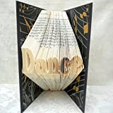 Hand Folded Book Art Sculpture, Dance, Gift for Dancer, 1st Paper Anniversary, Upcycled Decoration