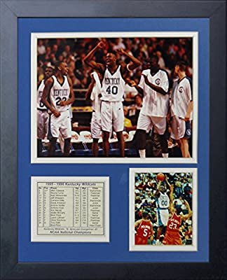 "1996 Kentucky Wildcats Champions 11"" X 14"" Framed Photo Collage By Legends Never Die, Inc."
