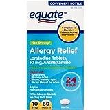 Equate Loratadine Tablets 10Mg Antihistamine