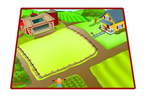 - Neat-Oh! Horse Farm Playmat with 12 Toy Figures