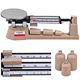 2610Gx0.1 Triple Beam Balance Scale Zero Adjustment Knob Built-in Magnetic Dampening No Need Battery Or Any Other Power Supply Laboratories Classrooms US Delivery