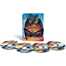 "Dragons: Riders of Berk - The Complete First Season in a Limited Edition Transforming ""Toothless"" Collectible Case"