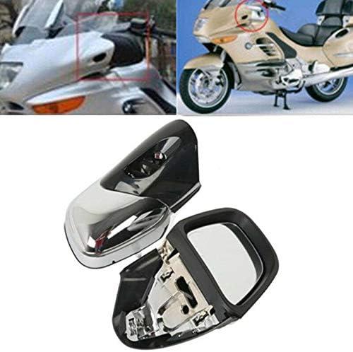 ハンドルバーエンドミラーオートバイ左&ampRightリアビューサイドミラーフィット感のためのBMW K1200 K1200LT K1200M
