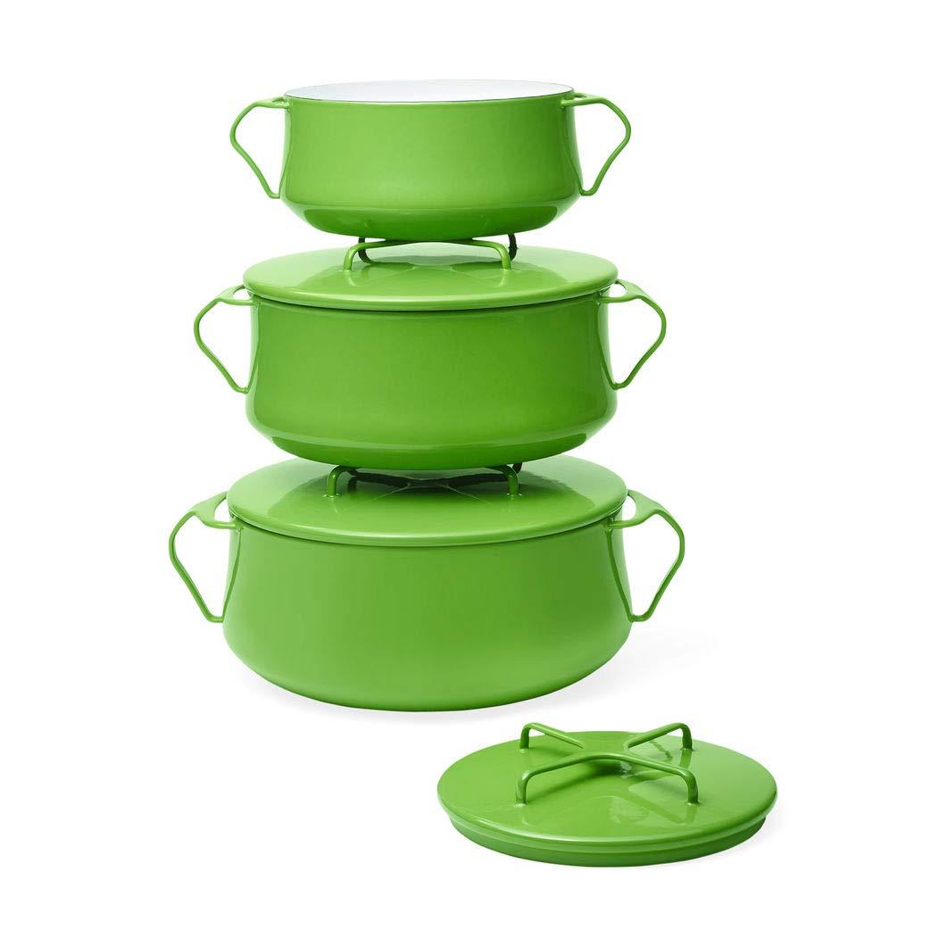 Dansk Kobenstyle Green 4 Qt. Casserole Cookware Pan
