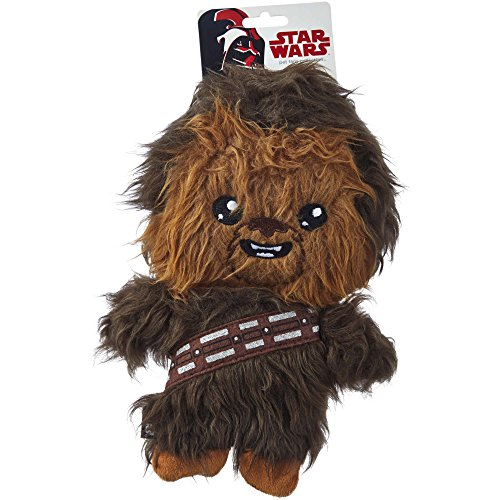 Petco Star Wars Chewbacca Flattie Dog Toy, Medium