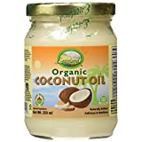 Everland Coconut Oil, Glass Bottle, 250 ml