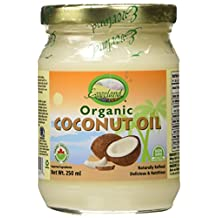 Everland Coconut Oil, Glass Bottle, 250 ml
