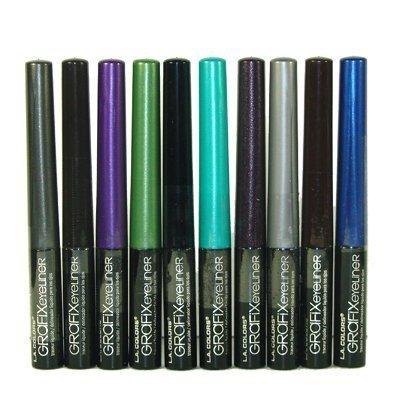 Top 10 LA Colors Grafix Grafix Liquid Liner Smudge Proof Tear Proof Water Resis...