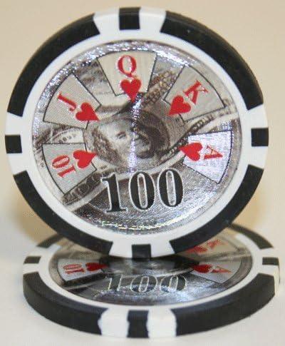 Choose 50 BEN Franklin Laser 14gm Poker Chips