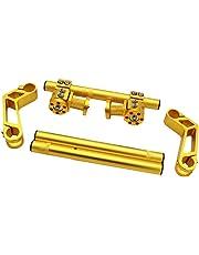 Baosity Motorcycle Motor Handlebar Handle Bar Set Kit for Honda Grom MSX 125 - Golden