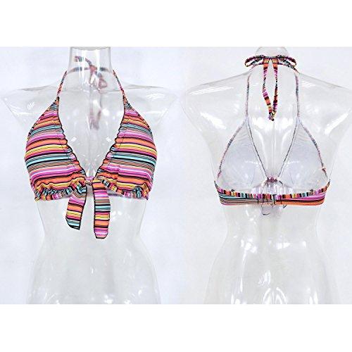 Futurino - Top de bikini - para mujer Multicolor