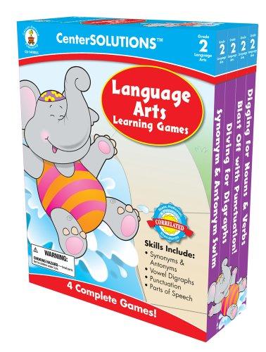 Carson-Dellosa Publishing Language Arts Learning Games, Grade 2 ()