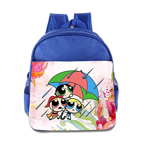 Price comparison product image Jade Custom Cute Cute TV Cartoon Role Poster Kids Children School Bag For 1-6 Years Old RoyalBlue