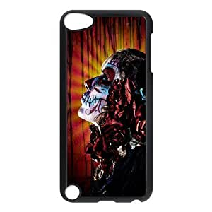 VNCASE Artistic Skull Phone Case For Ipod Touch 5 [Pattern-1]