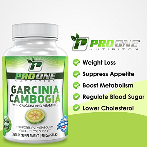 Pure Garcinia Cambogia 800MG by ProOne Nutrition. Add Garcinia to lose weight quickly and fast to diet, Increase Energy, improve Cholesterol, Stabilize Blood Sugar Levels and have a More Positive Mood by Pro One Nutrition (Image #7)